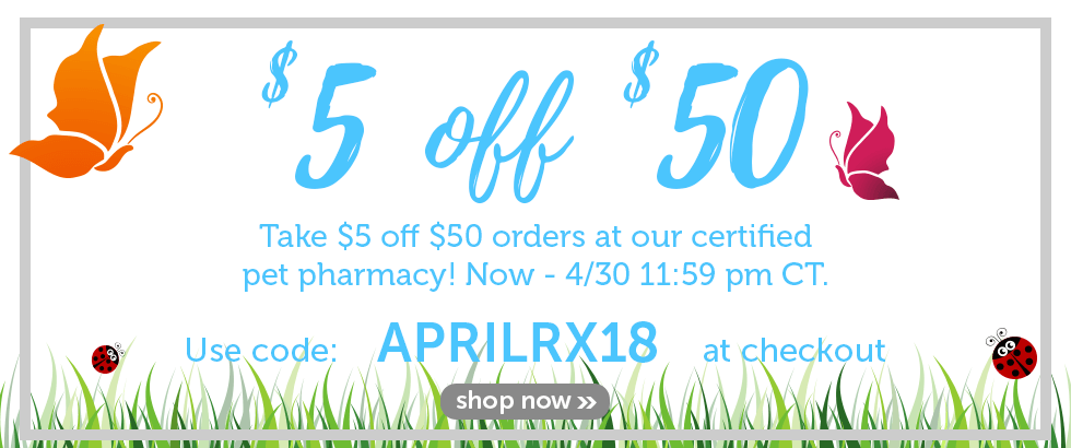 Save at our certified pet pharmacy