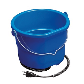 API Heated Flat-Back Bucket