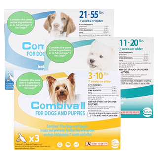 Combiva<sup>®:</sup> II for Dogs & Puppies