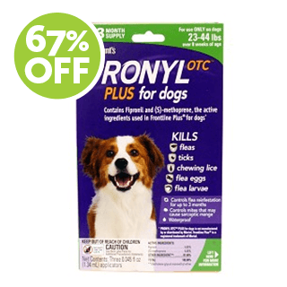 Pronyl OTC Plus for Dogs 23-44 lbs.