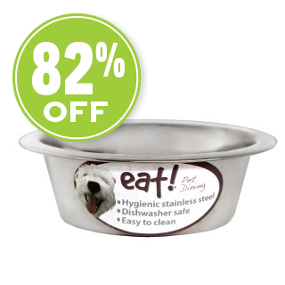 eat!® Stainless Steel Bowl