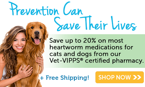 Heartworm sale + free shipping