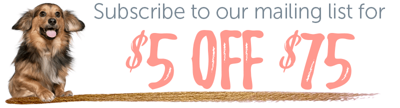 Subscribe and get $5 off $75!