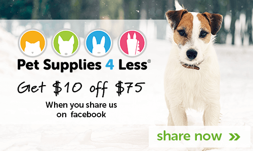 Share us on facebook and get $10 off $75