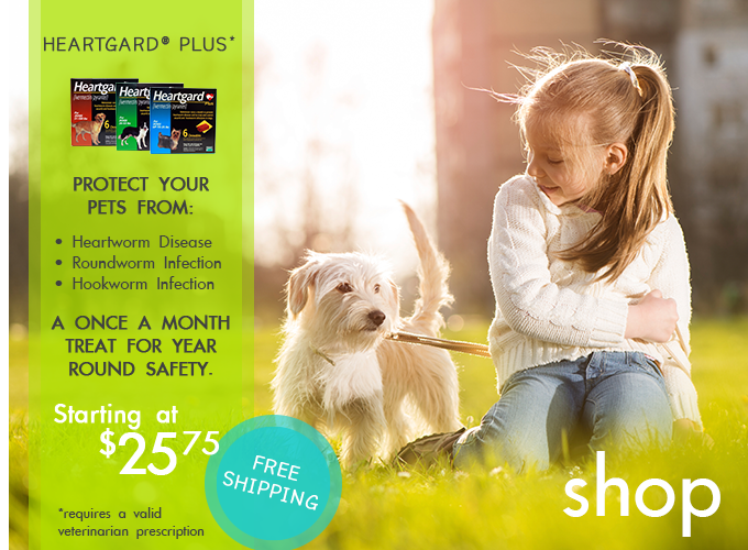 Free Shipping on Heartgard at PetSupplies4Less.com