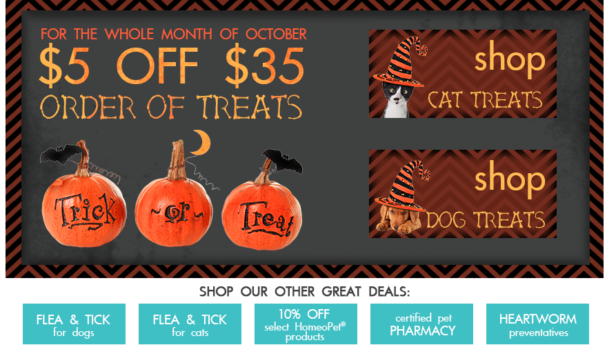 $5 off $35 order of treats