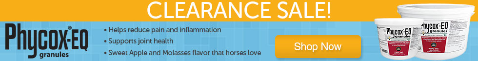 Clearance sale on Phycox Equine Granules