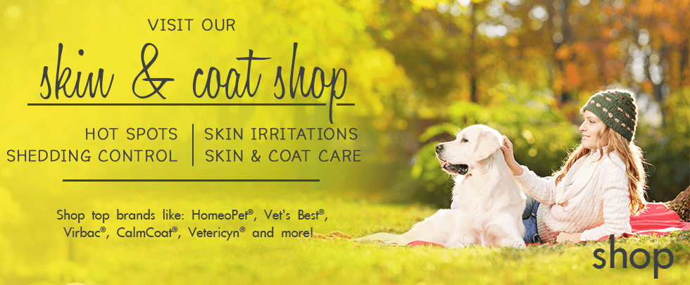 Shop Top Skin & Coat Brands at PetSupplies4Less.com
